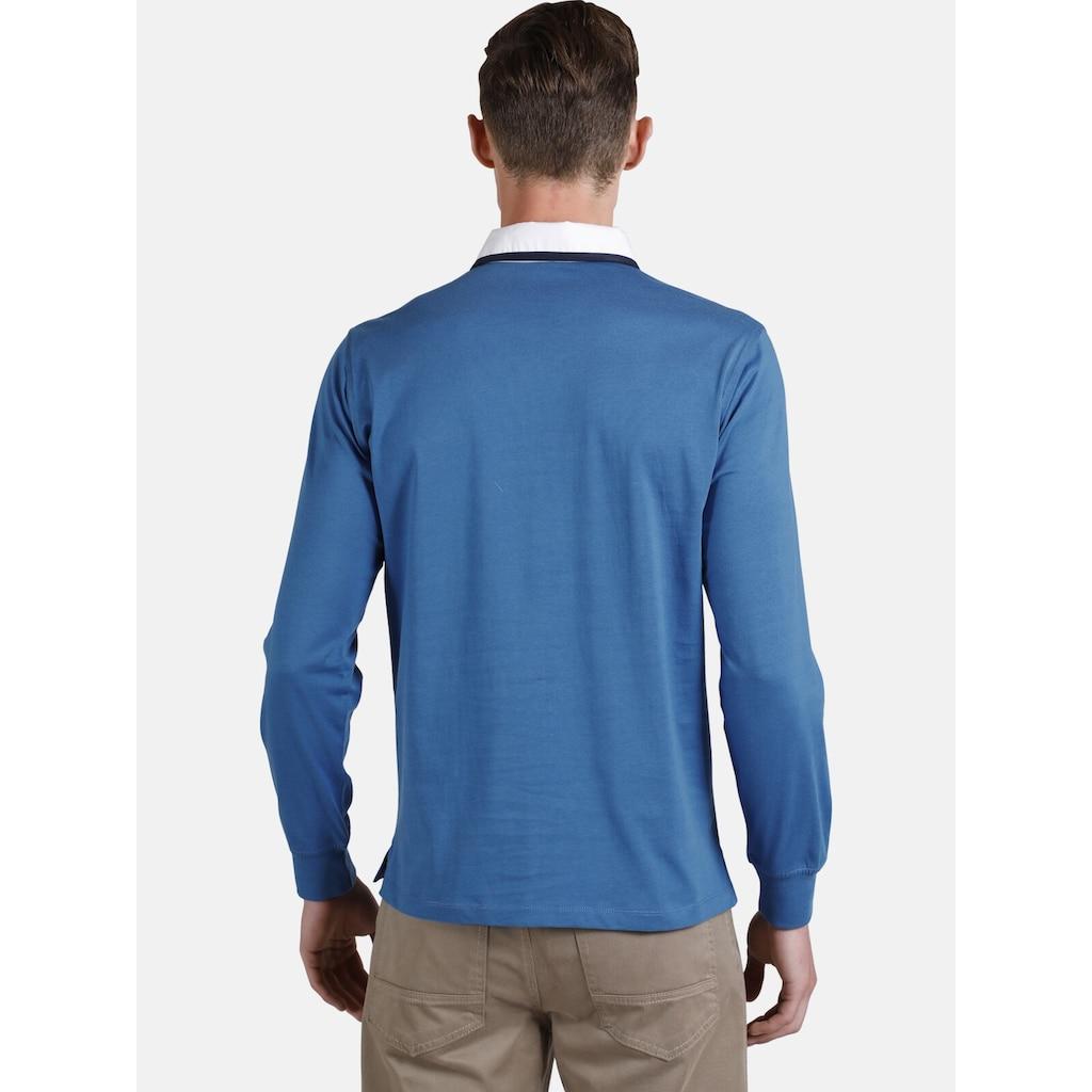 Charles Colby Sweatshirt »DUKE CALLANHAN«, mit aufwendigen Verzierungen