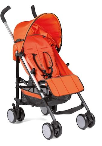 Gesslein Kinder-Buggy »S5 4+4, Orange«, mit schwenkbaren Vorderrädern kaufen