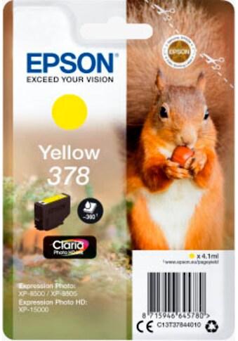 Epson Tintenpatrone »Claria Photo HD Ink 378 Yellow«, (1 St.) kaufen