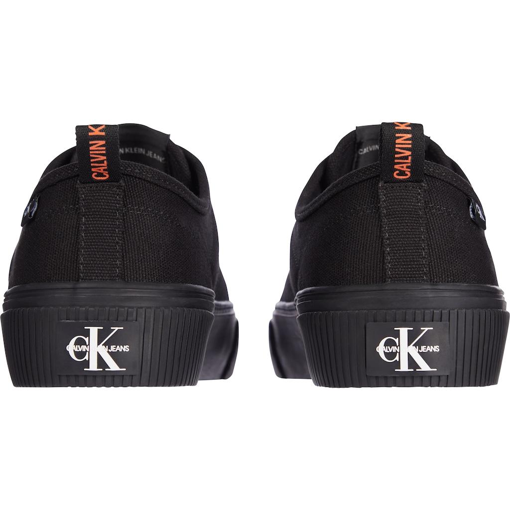 Calvin Klein Sneaker, mit Plateau