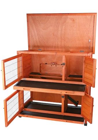 TRIXIE Kleintierstall, BxTxH: 116x65x111 cm, zweistöckig kaufen