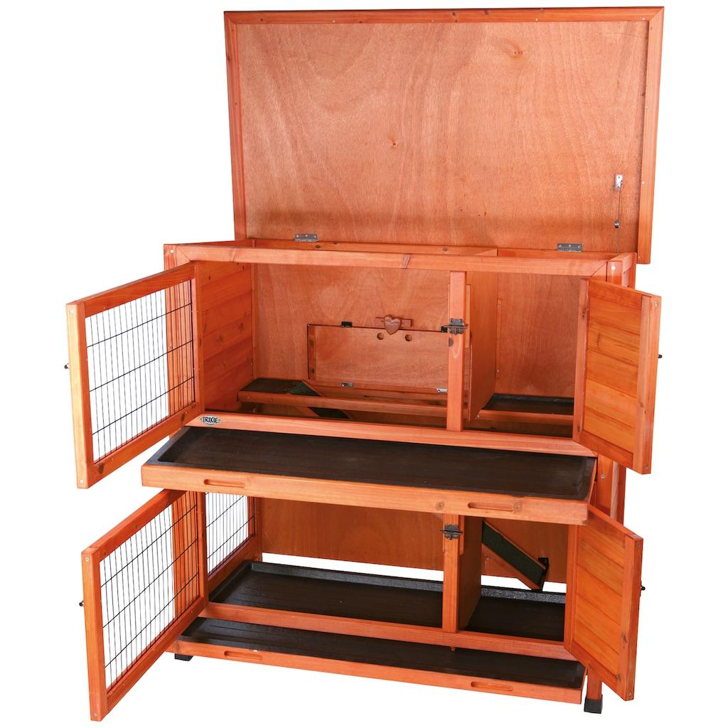 TRIXIE Kleintierstall, BxTxH: 116x65x111 cm, zweistöckig