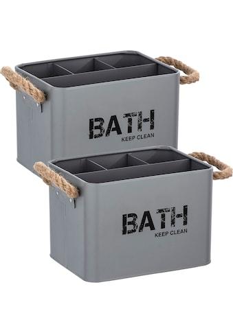 WENKO Aufbewahrungsbox »Gara« (Set, 2 Stück) kaufen