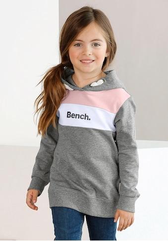 Bench. Kapuzensweatshirt, mit kontrastfarbenen Einsätzen kaufen