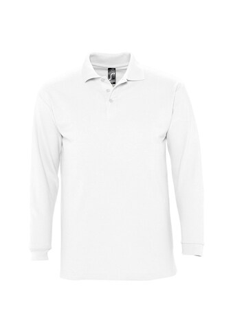 SOLS Poloshirt »Herren Winter II Pique Langarm-Shirt / Polo-Shirt, Langarm« kaufen