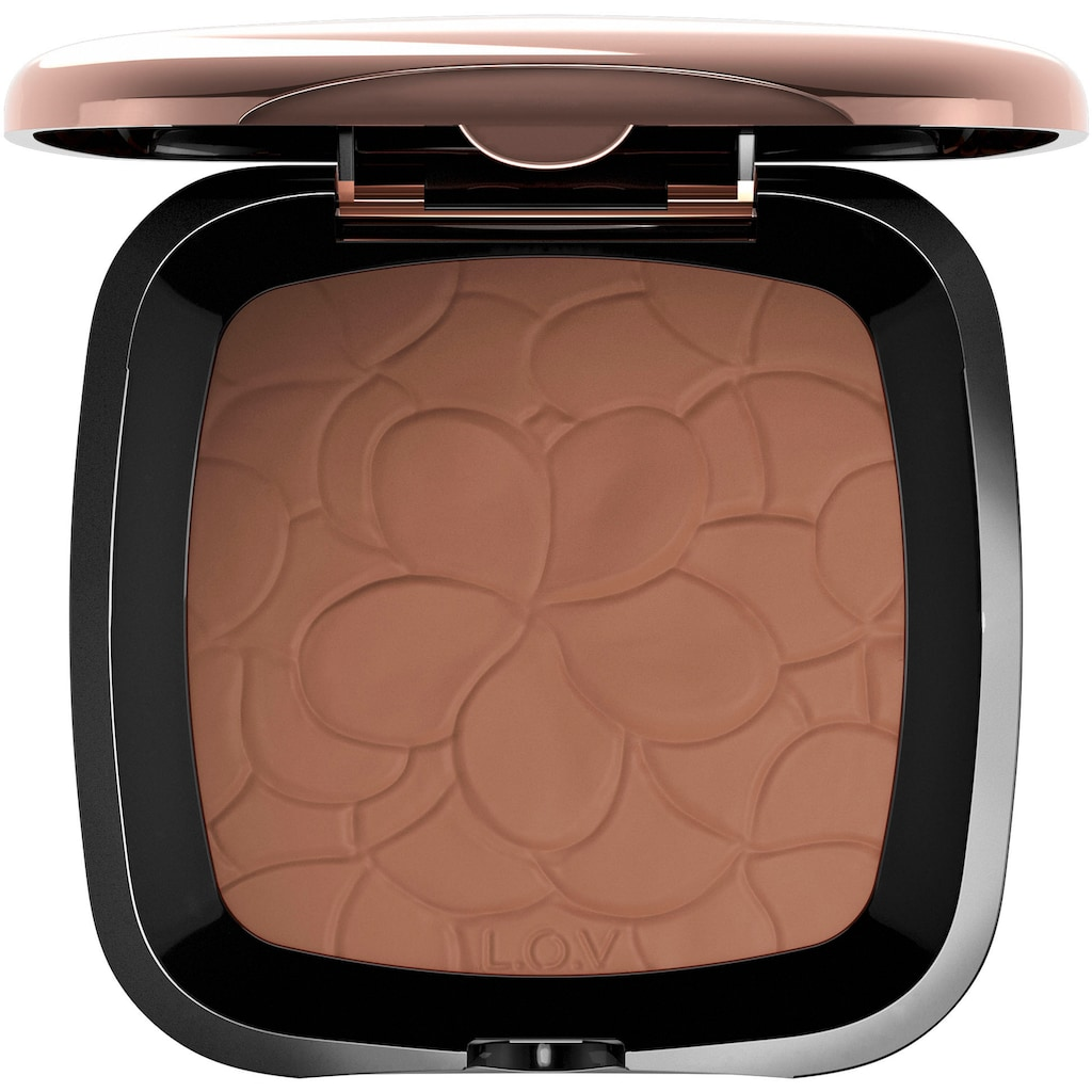 L.O.V Bronzer-Puder »LOVSUN blurring bronzing powder«