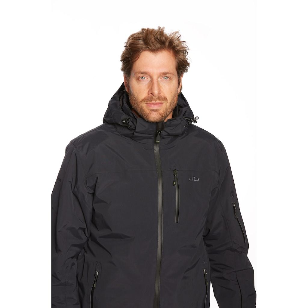 Jeff Green Skijacke »Bergen«, RECCO-Lawinensystem, Skipasstasche