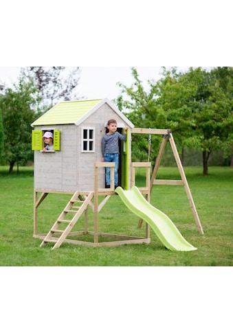 WENDI TOYS Spielhaus »Elefant Lime«, Gesamtmaß BxTxH: 350x330x242 cm kaufen