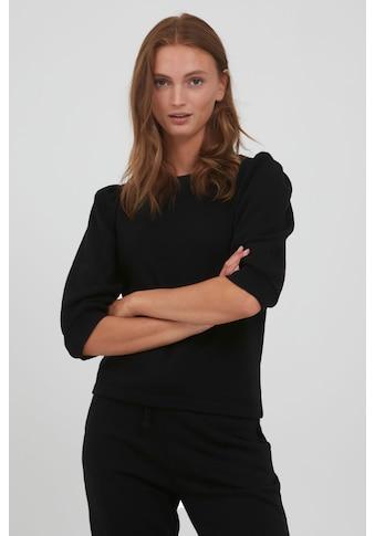 b.young Sweatshirt »BYSAMMIA PUFF SLEEVE - 20810535«, Shirt mit 3/4 Puffärmeln kaufen