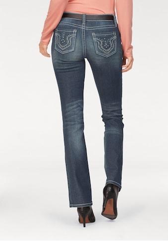 Laura Scott Bootcut-Jeans, Auch in Kurz und Langgrößen kaufen