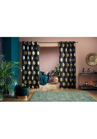 my home Verdunkelungsvorhang »Kreise«, Foliendruck kaufen