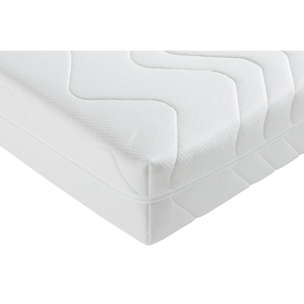fan Schlafkomfort Exklusiv Taschenfederkernmatratze »ProVita Wellness Luxus T«, 20 cm cm hoch, 544 Federn, (1 St.), mit antibakterieller »smartcel™sensitive«-Faser im Bezug