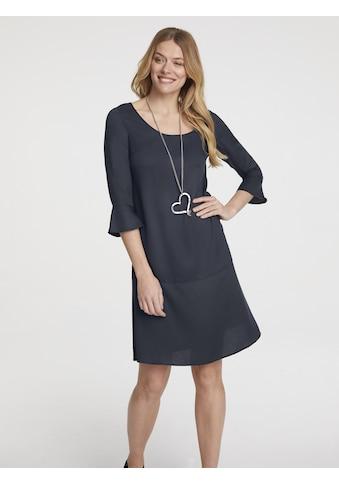 Kleid mit Trompetenärmeln kaufen