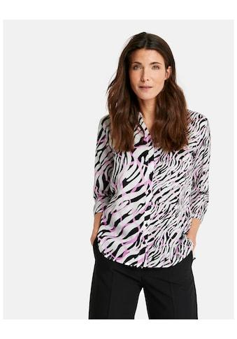 GERRY WEBER Bluse 3/4 Arm »3/4 Arm Bluse mit Animaldessin« kaufen