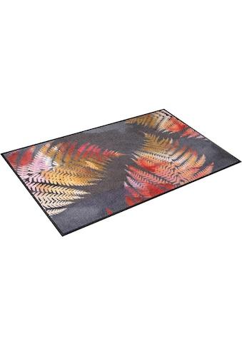wash+dry by Kleen-Tex Teppich »Erbario«, rechteckig, 7 mm Höhe, In- und Outdoor... kaufen