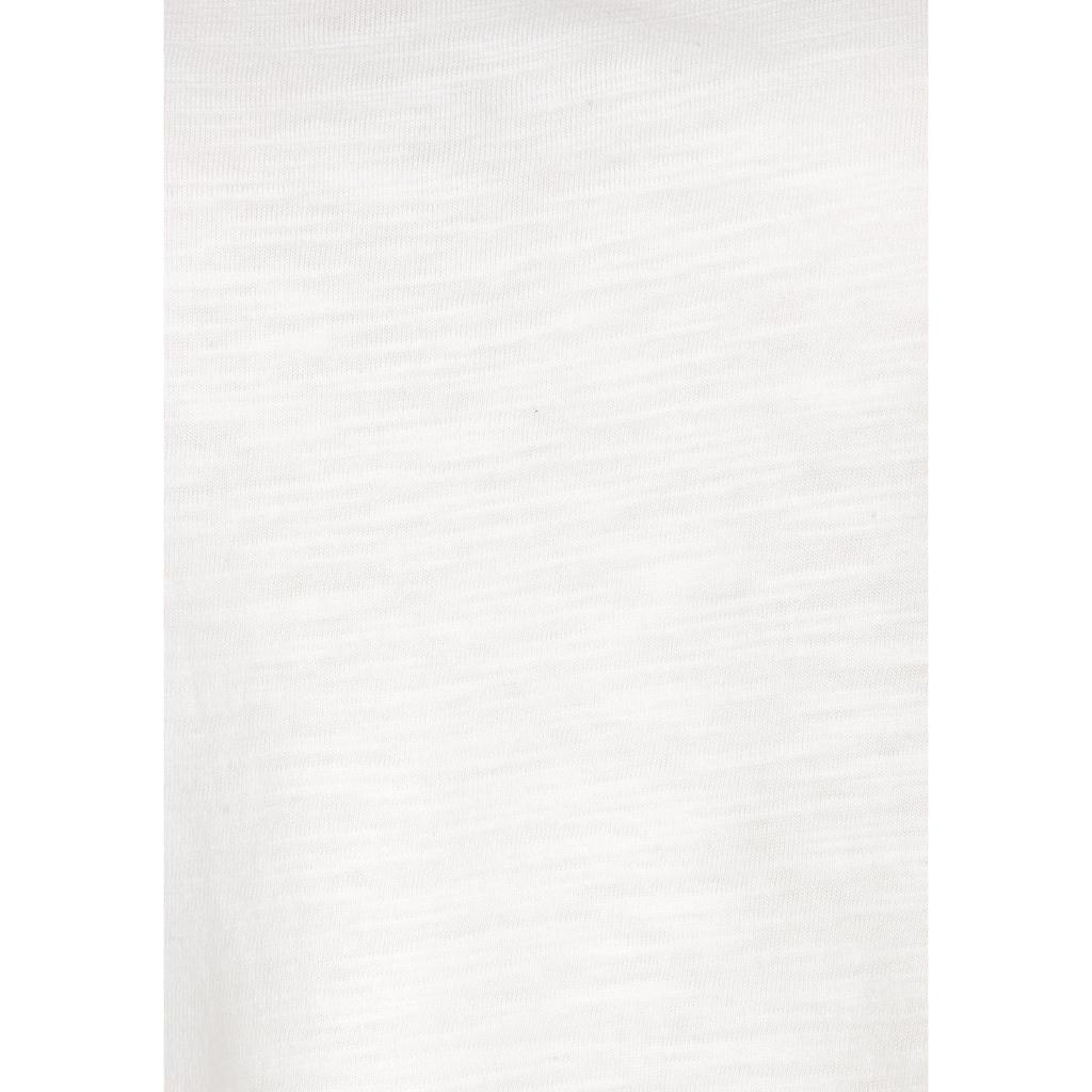 Vivance Spitzentop, (2er-Pack), mit weicher Häkelspitze im Rücken