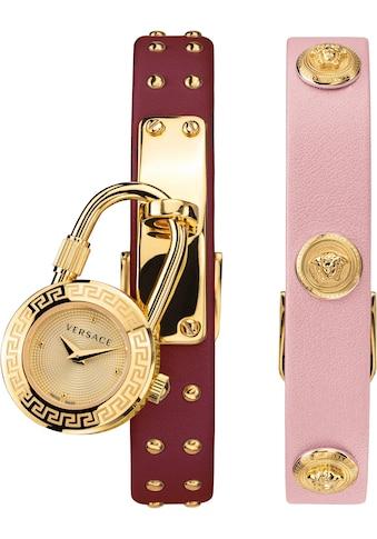 Versace Schweizer Uhr »Medusa Lock Icon, VEDW00319«, (Set, 3 tlg., mit zusätzlichem... kaufen