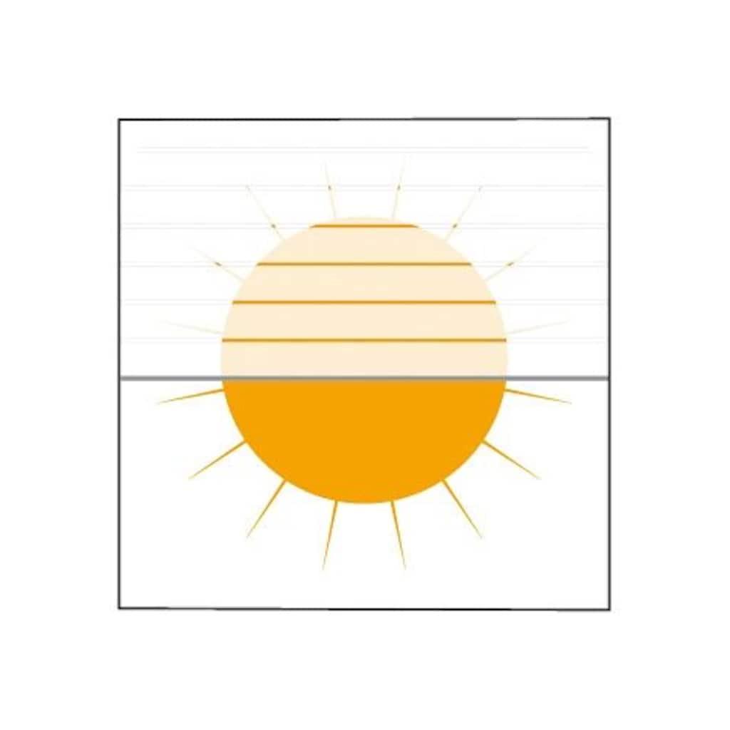sunlines Dachfensterplissee nach Maß, Lichtschutz, Perlreflex-beschichtet, mit Bohren, verspannt