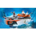 "Playmobil® Konstruktions-Spielset ""Spy Team Turboship (70002), Top Agents"", Kunststoff"