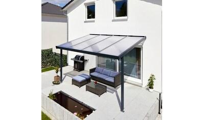 GUTTA Terrassendach »Premium«, BxT: 410x306 cm, Dach Polycarbonat klar kaufen
