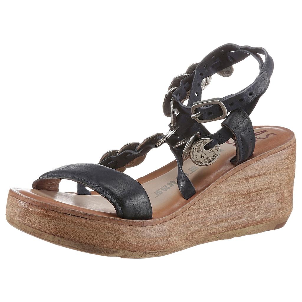 A.S.98 Sandalette »NOA«, mit edlen Schmuckelelmenten