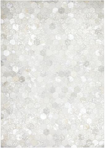 Kayoom Lederteppich »Spark 210«, rechteckig, 8 mm Höhe, Patchwork-echtes Leder-Fell,... kaufen