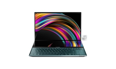 """Asus 15,6"""" + 14,0"""" UHD Touch, i7, 512GB + 32 GB Notebook (39,6 cm / 15,6 Zoll, Intel,Core i7, 512 GB SSD) kaufen"""