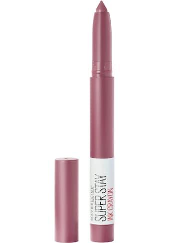 MAYBELLINE NEW YORK Lippenstift »Super Stay Ink Crayon« kaufen