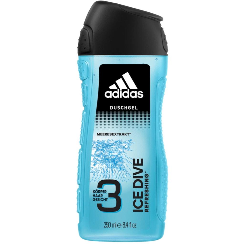 adidas Performance Duschgel »Ice Dive 3in1«, (Spar-Set, 6 tlg.), für Männer