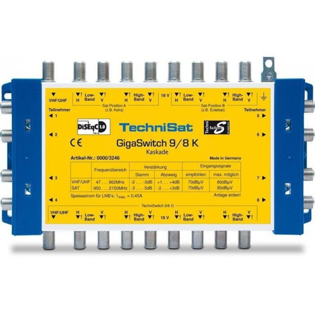 TechniSat Multischalter - Kaskade, Erweiterung