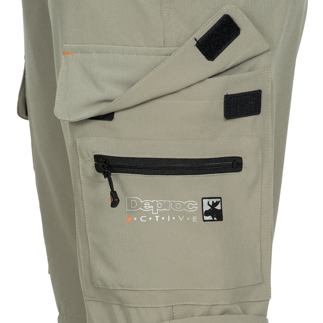 DEPROC Active Outdoorhose »KENORA Full Stretch Zip-Off«