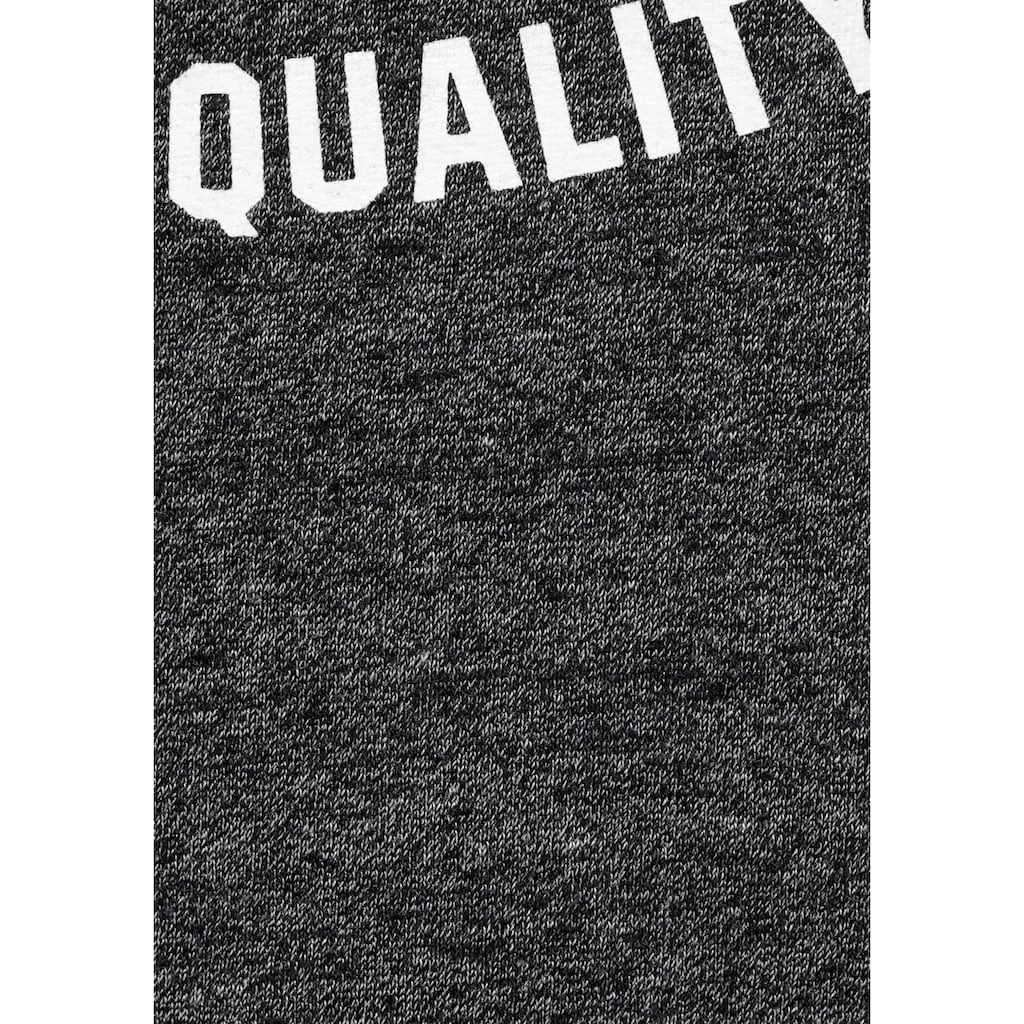 John Devin Kapuzensweatshirt, mit Print auf der Kapuze