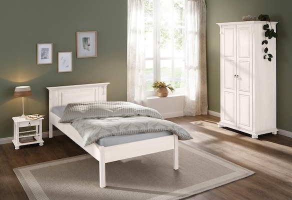 weißes Schlafzimmer-Set im Landhausstil