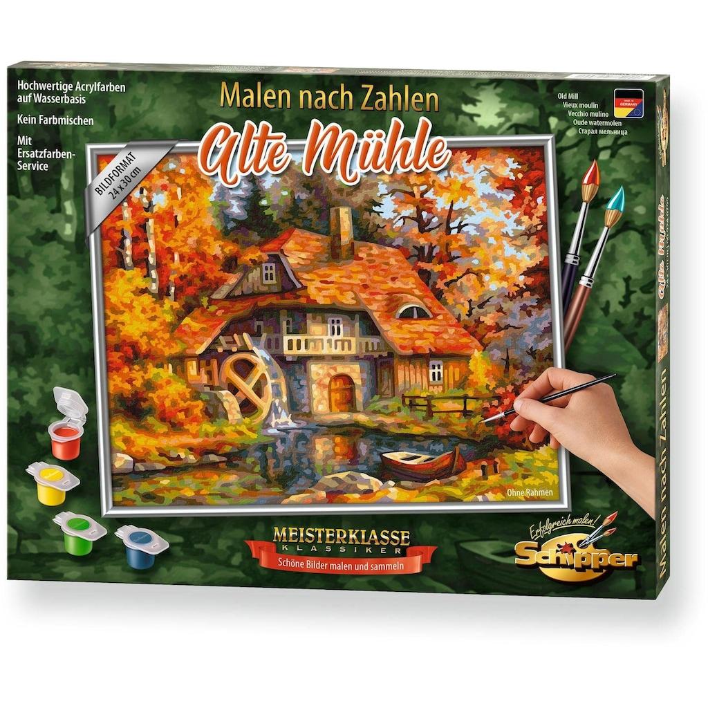 Schipper Malen nach Zahlen »Meisterklasse Premium - Alte Mühle«, Made in Germany