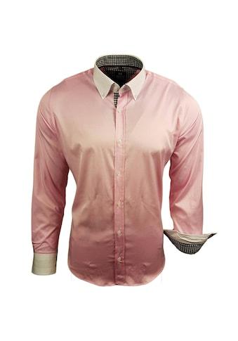 Rusty Neal Langarmhemd mit abgesetzten Details kaufen