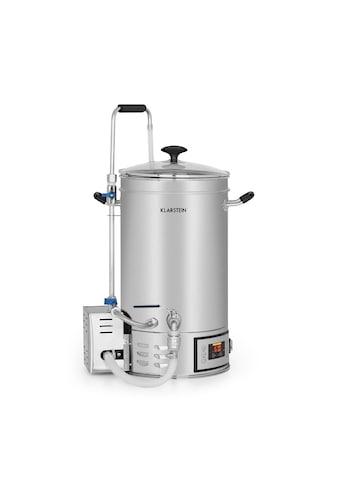 Klarstein Maischekessel 15 Liter 30 - 140°C Umwälzpumpe Edelstahl »Brauheld« kaufen