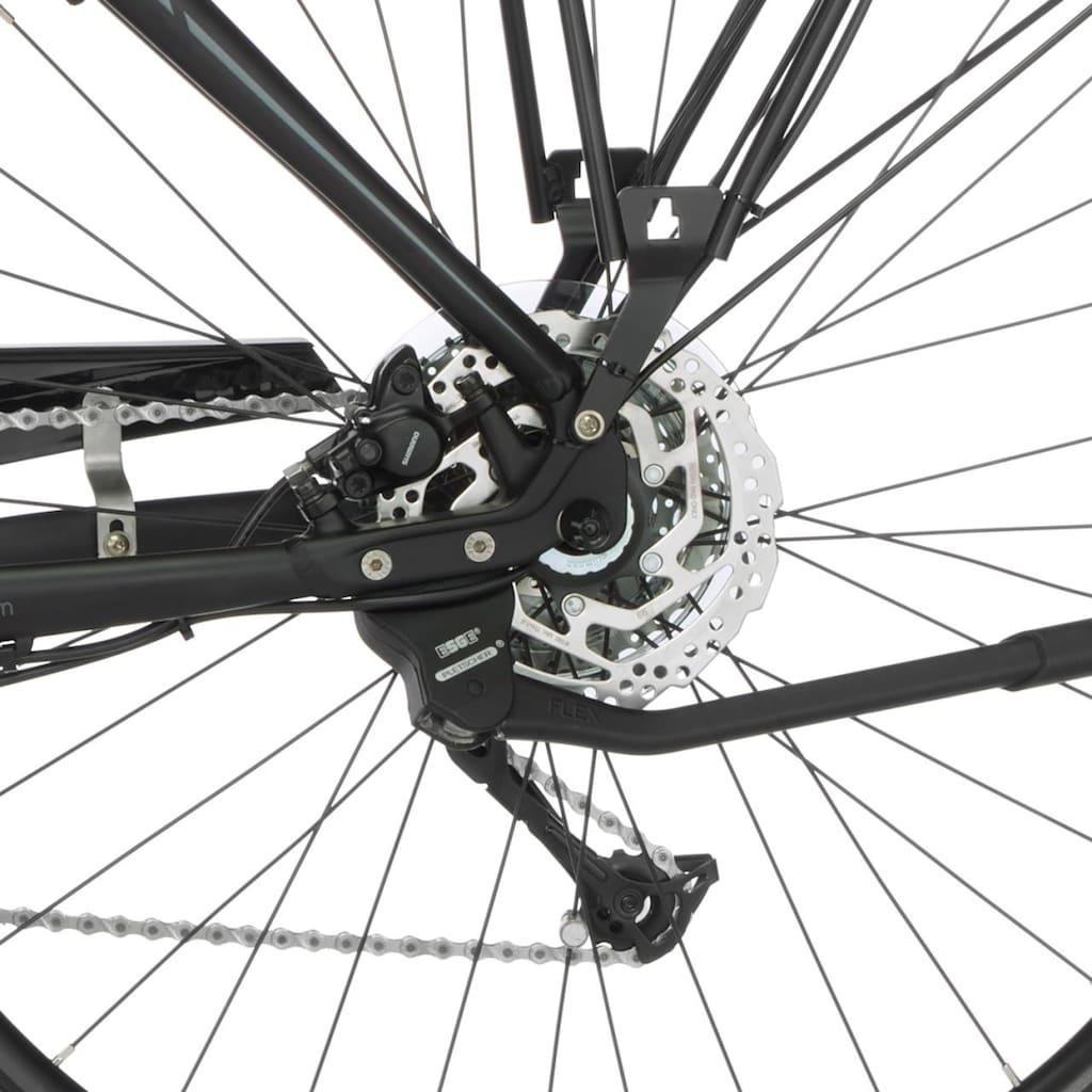 FISCHER Fahrräder E-Bike »VIATOR H 4.0i«, 9 Gang, Shimano, Acera, Mittelmotor 250 W