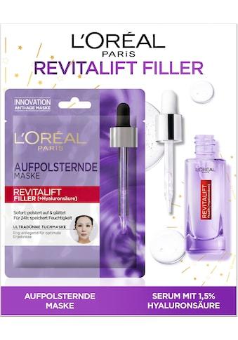 L'ORÉAL PARIS Gesichtspflege-Set »Revitalift Filler«, (2 tlg.), mit Maske und... kaufen