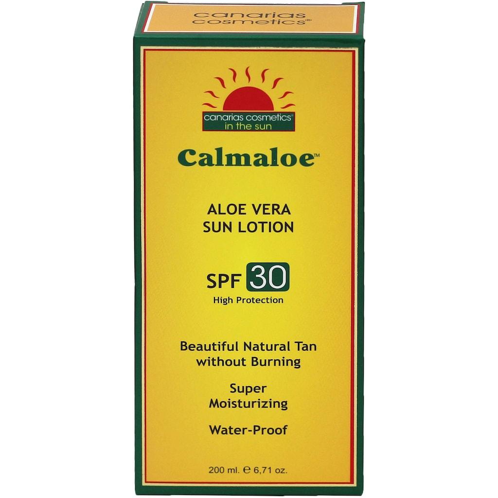 canarias cosmetics Sonnenschutzcreme »Calmaloe Sonnenpflege SPF30«