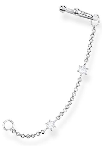 THOMAS SABO Ohrklemme »weiße Steine, EC0021-051-14«, mit Zirkonia kaufen