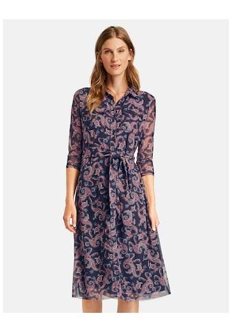 GERRY WEBER Blusenkleid »Midilanges Meshkleid mit Paisleymuster« kaufen