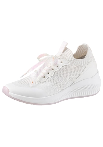Tamaris Slip-On Sneaker »Fashletics«, mit trendigen Metallic-Schimmer kaufen