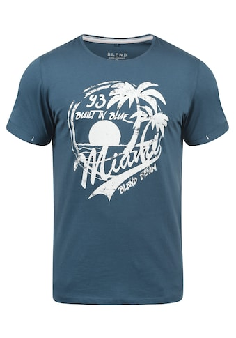Blend Rundhalsshirt »Perry«, Kurzarmshirt mit Frontprint kaufen