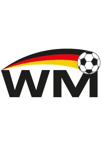 Wall-Art Wandtattoo »Wandaufkleber WM Fußball« kaufen