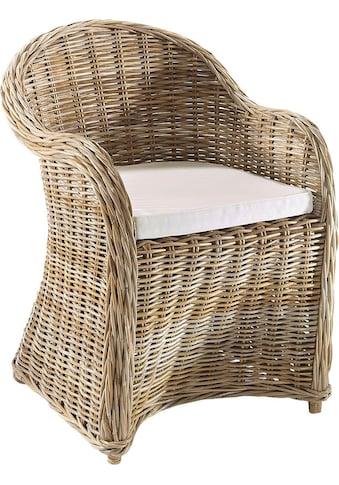 locker Sessel »Boston«, Rattan kaufen
