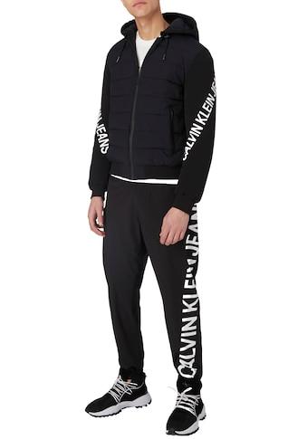 Calvin Klein Jeans Sweathose »STRETCH LOGO NYLON TRACKPANT« kaufen