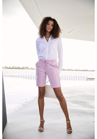 LASCANA Shorts, mit Gürtelschlaufen und Bindeband kaufen