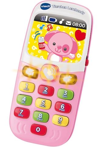 """Vtech® Spieltelefon """"VTech Baby Tierchen Lernhandy, pink"""" kaufen"""