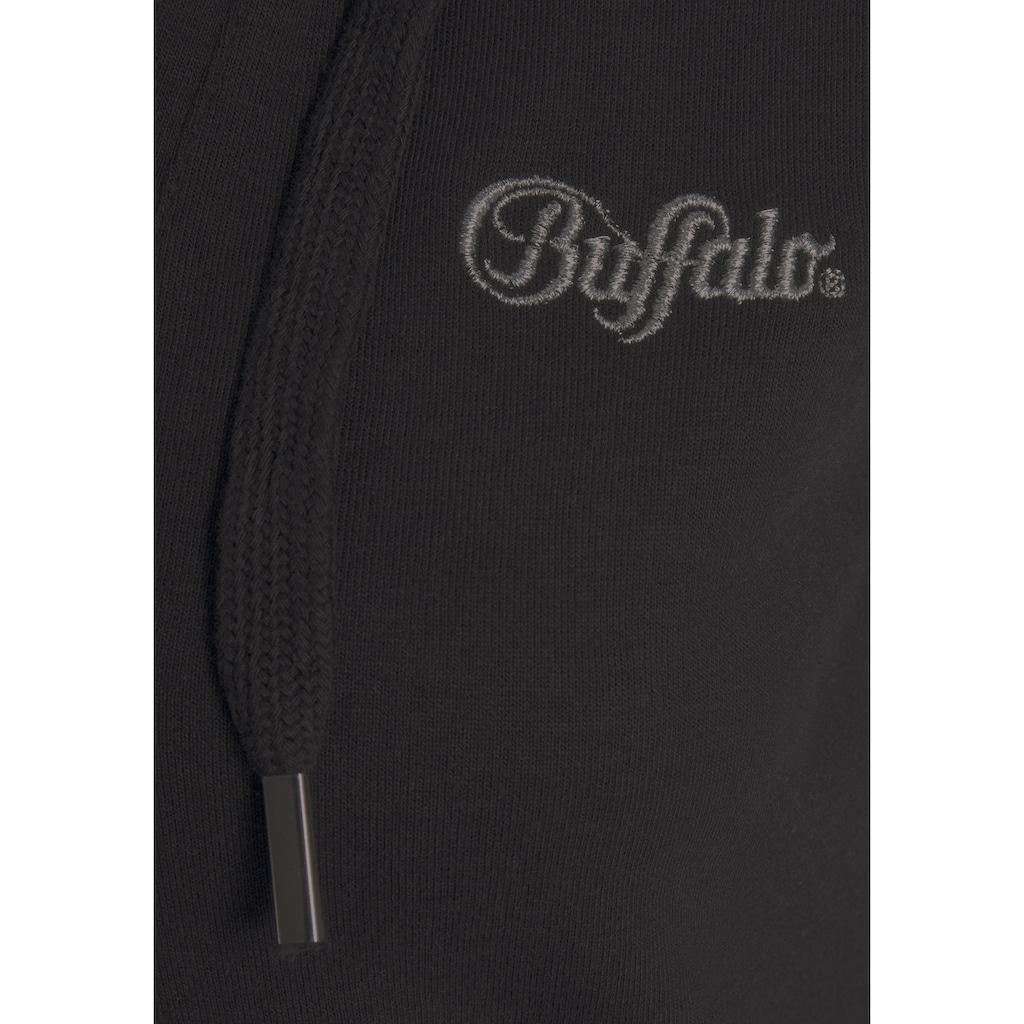 Buffalo Kapuzensweatshirt, in kurzer Form
