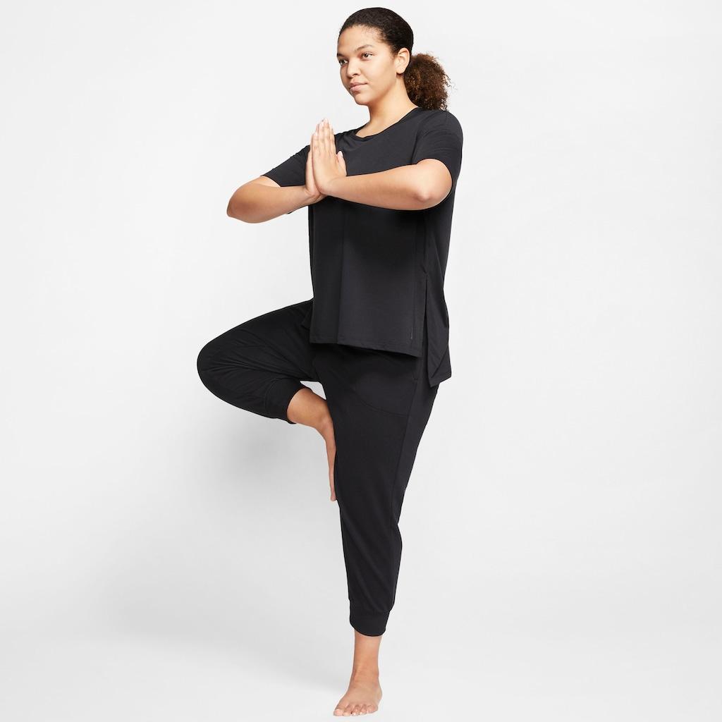 Nike Yogashirt »Nike Women's Short-Sleeve Yoga Training Top Plus Size«